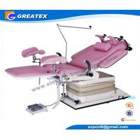 Buy cheap Advanced Electric Hydraulic Gynecological Chair Operating Tables with Shadowless lamp from Wholesalers