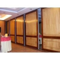 Quality Commercial Wooden Aluminum Acoustic Room Dividers / Office Folding Panel Partitions for sale