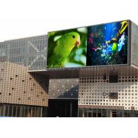 Quality 1R1G1B Outdoor LED Signs , Led Video Screen Rental 10mm Pixel Pitch For Advertising for sale