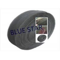 Quality Pure Titanium Filter Knitted Mesh 0.2 / 0.25mm Wire For Sea Water Desalination / Air Filter for sale