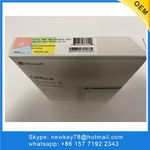 Quality PKC Retail Box Microsoft Home And Business 2019 Lifetime Guarantee 100% Useful for sale