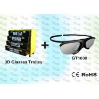 Quality HD Active Shutter 3D Video Glasses with Trolley for sale
