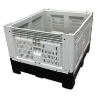 China Cunstomzied Color Collapsible Plastic Pallet Containers 700L Capacity 43kg Weight on sale