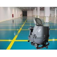 Quality Cleaning Company Washer Scrubber Dryer Machines , Hard Ground Walk Behind Floor Scrubbers for sale