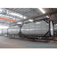 Quality Horizontal 40 Feet 50000L Heating Bitumen Tanker ISO Tank Containers for sale