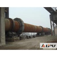 Quality Simple Structure And Little Noise Rotary Kiln With Speed 0.23 - 2.26r/min for sale