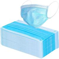 Quality 17.5*9.5cm Compact 3 Ply Surgical Mask , Disposable Pollution Mask For Personal Safety for sale