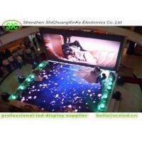 Buy cheap outdoor p10 Full Color Diy Light Up Dance Floor With Skidproof Floor Mask , Size Customized from Wholesalers