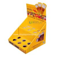 Quality Cosmetics PDQ Counter Displays, Cardboard Counter POP Display for Lipstickers for sale