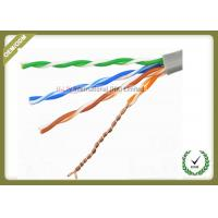 Quality Solid Bare Copper Conductor Network Fiber Cable Cat5e U/UTP 4x2x0.5 Solid Cuprum for sale