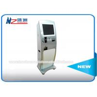China Top Up Prepaid Card Ticket Vending Kiosk Machine Wifi Connection Windows Xp System on sale
