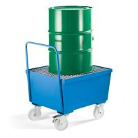 China Highly Durable Drum Spill Containment 3mm Cold Rolling Steel Lateral Dual Structure on sale
