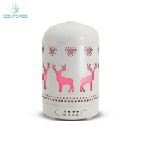 Quality Home Metal Ultrasonic 100ML Essential Oil Diffuser for sale