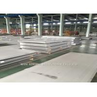 China 2B Surface Super Duplex Stainless Steel Plate 2205 2507 Cutting Customized on sale