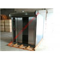 Quality Diesel Gas Power Bakery Rotary Oven , Rotating Bakery Oven 2 Year Warranty for sale