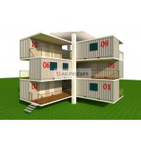 Quality Multi Function Stacked Container House , 40 Ft Mobile Home For Office for sale