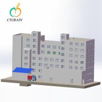 Quality Large Industrial Flour Mill Wheat Flour Processing Plant 60-1000 Ton Per Day for sale