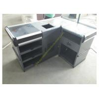 Quality Useful Design Convience Store Metal Cash Counter Used In Shopping for sale