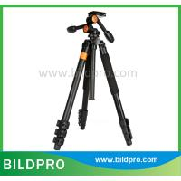 China BILDPRO Professional Camera Spare Parts Tripod with Pan Fluid Head For Canon Sony Nikon Digital Cameras on sale