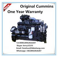 Quality Cummins motor diesel 8.3L engine for screw air compressor for sale