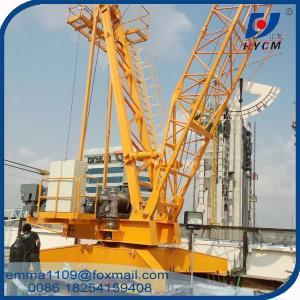 QD100 Construction Derrick Crane 10 Tons Capacity With Inverter / VFD Control