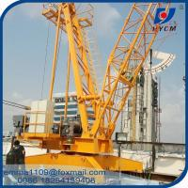 Buy QD100 Construction Derrick Crane 10 Tons Capacity With Inverter / VFD Control at wholesale prices