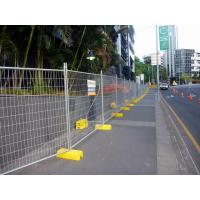 Quality Temporary Fencing Panel Clamp Base Temp Construction Galvanised Temp fence Panel for sale