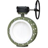 Quality PTFE lined butterfly valve for sale