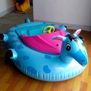 Buy cheap Beautiful Animal Aqua Bumper Boats / Remote Control Bumper Boats Long Life from wholesalers