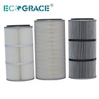 Quality Performance Industrial Cyclone Dust Collector Filter Cartridge / Silo Vent Filter for sale