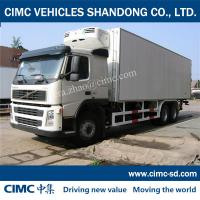 Quality Thermo King VOLVO CHASSIS cargo van box trucks for sale cargo vans for sale for sale