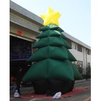 China 5m High Inflatable Christmas Decorations / Advertising Blow Up Christmas Tree on sale