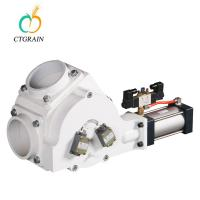 Quality Two Way Plug Air Diverter Valve / Pneumatic Conveying Diverter Valve 5.5Kw for sale