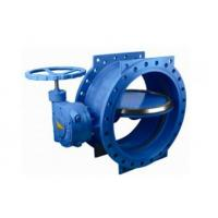 """Quality 125 Lbs / 200psi Double Eccentric Butterfly Valve With Handwheel 2"""" - 120"""" Size for sale"""
