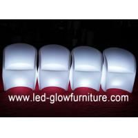 Quality Unique Shape Color Changing Club Bar LED Chair Light with IR / RF Remote Controller for sale