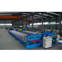 Quality Metal Roof Sheet Corrugation roll forming machine with Bar Bolt Stand, CE Approval for sale