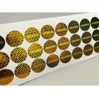 Quality Gloss Lamination Security Sticker Labels , Custom Size Security Seal Stickers for sale