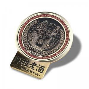 Quality OEM Antique Pin Badge / Button Lapel Pin For Souvenir Variform Size Optional for sale