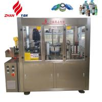 Quality Hot Melt Glue Labeling Machine / Packaging Machine For 300ml Glass Bottles for sale