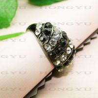 Quality Crystal Rings for sale