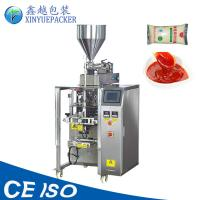 Quality Large Pouch Automatic Sauce Packing Machine / 500g 1 KG Pouch Packing Machine for sale