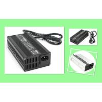 China Black Silver Sealed Lead Acid Battery Charger , 24V 7A Fast Battery Charger For Powered Trolling Motors on sale