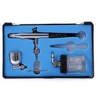Quality Model 134 Dual Action Airbrush with 7cc / 22cc Side Cup 0.3mm Tip , Model / Craft / makeup for sale