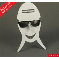 Quality Supermarket New Stylish Sunglass Holder For Car Cheap Case White Color for sale