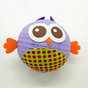 Quality DIY Cartoon Fish Colorful Handmade Hanging Paper Lantern for sale