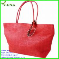 Quality Reusable non woven straw shopping bag for sale