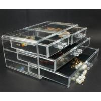 Quality clear Acrylic Diamond box for Ring Diamond ring box for sale