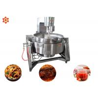 Quality JC-600 Meat Processing Equipment Automatic Cooking Pots With Mixer 2.2 KW for sale