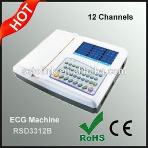 China Portable 12 Channel ECG Machine, Digital ECG Machine on sale