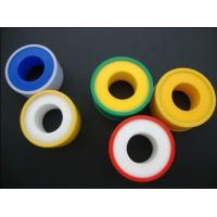 Quality Good Performance PTFE Gasket Tape , PTFE Adhesieve Tape for Pipe Linking for sale